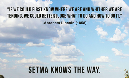 SETMA Knows Abraham Lincoln and Healthcare Analytics