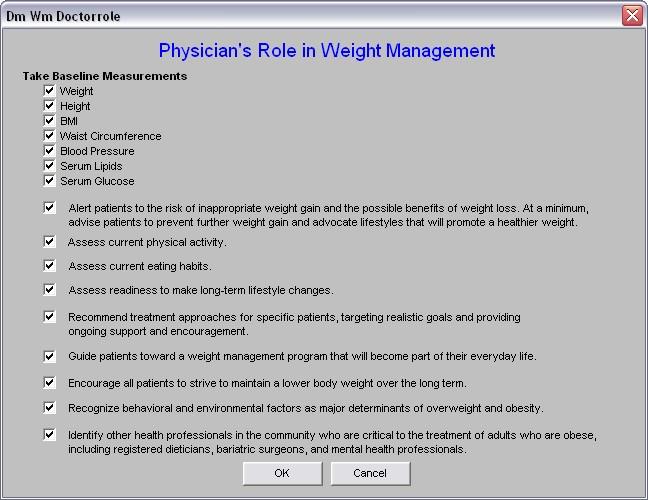 SETMA PCPI Weight Management